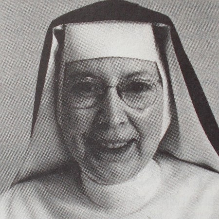 Sister Francis Assisi Loughery, who spoke up for Catholic beliefs