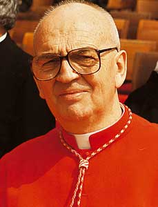 Cardinal Jean Jerome Hamer, OP, who told Sister Donna Quinn she was not a good Dominican