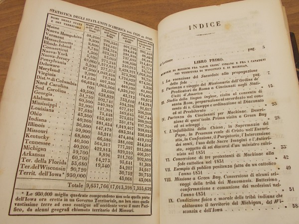 (Figure: STATISTICS OF THE UNITED STATES OF AMERICA FROM 1820 TO 1840)