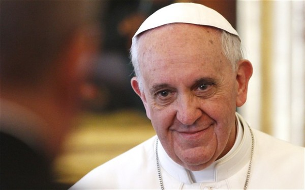 """Pope Francis told sisters """"Be mothers, not old maids."""""""