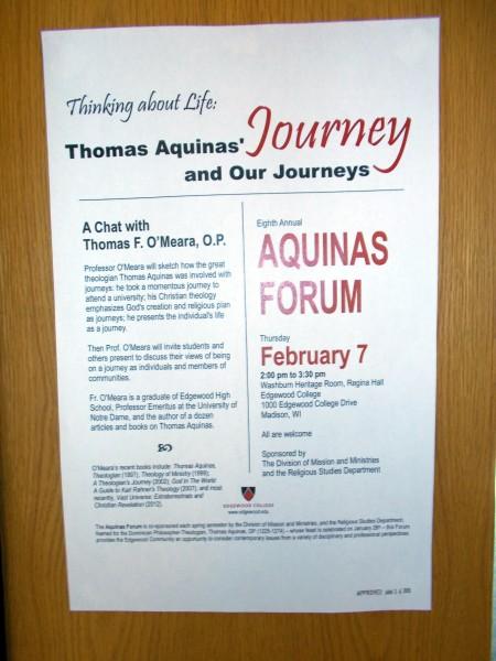 AqunasForumEdgewoodCampus