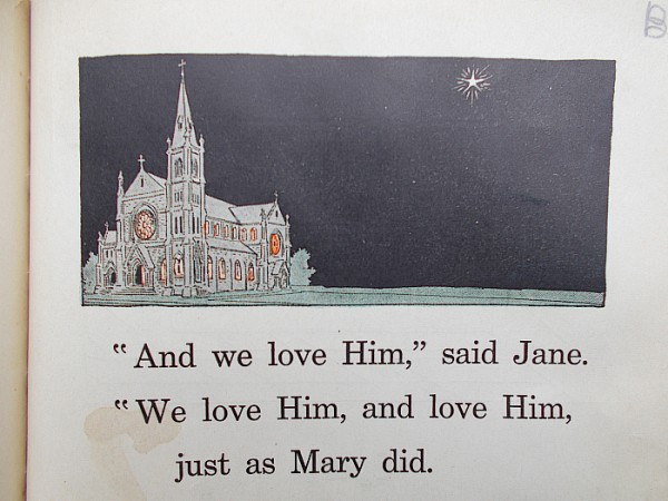 From the Rosary Readers Primer, by Sinsinawa Dominican Sister Mary Henry, 1927