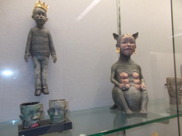 bizarre pottery