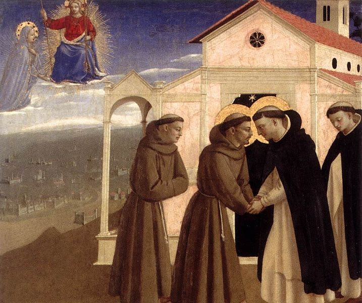 Angelico_incontro_tra_san_francesco_e_san_domenico